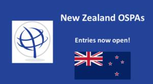 New Zealand OSPAs entries now open!